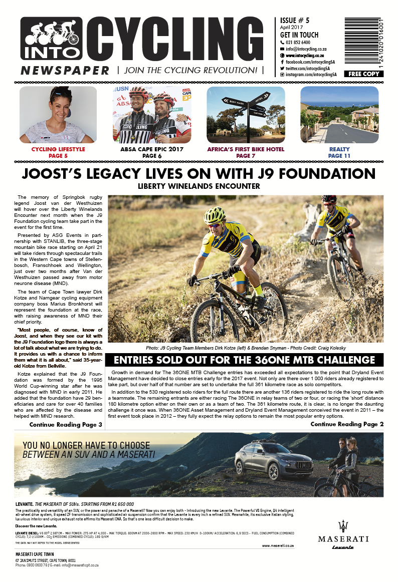 Into Cycling - April 2017