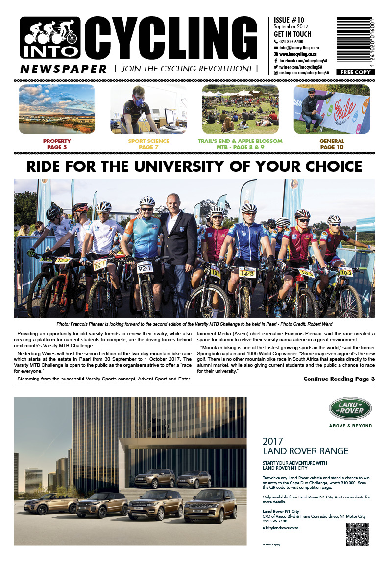 Into Cycling - September 2017