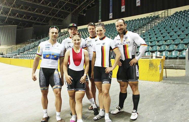 ba637c7d0bf German National Track cycling team visit South Africa