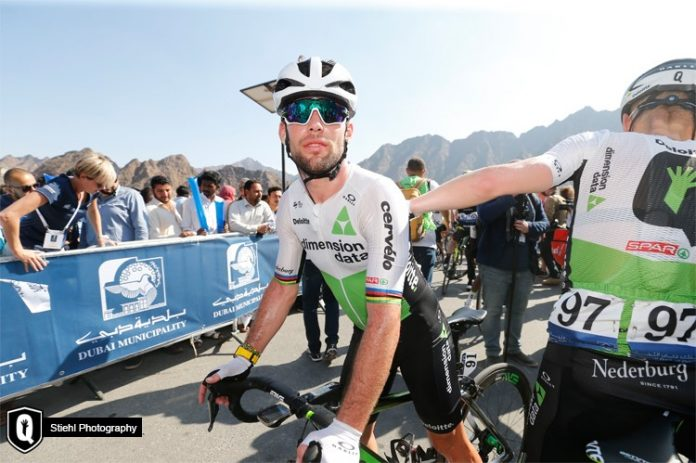 6ba96a44b Team Dimension Data for Qhubeka was dealt a massive blow even before racing  truly got underway on stage 1 of the Abu Dhabi Tour. Mark Cavendish was  involved ...