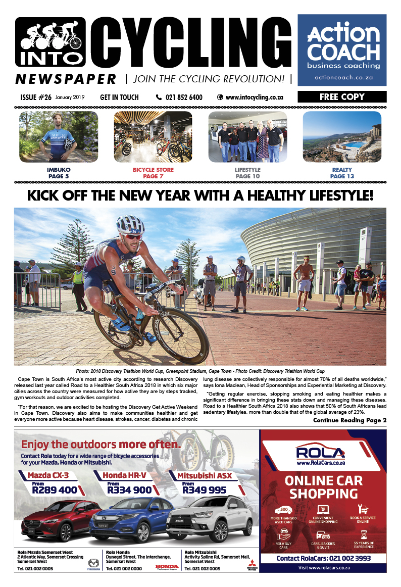 Into Cycling - January 2018