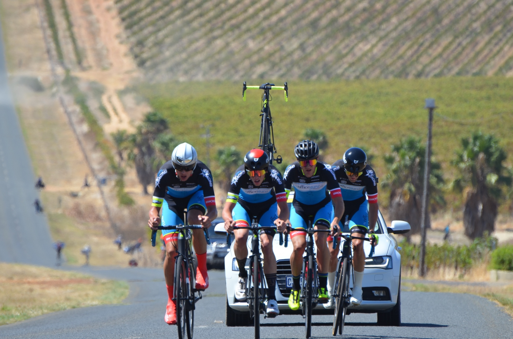 Tour of Good Hope Into Cycling. OfficeGuru Racing made their mark at the  Takealot ... 889ba8ae1