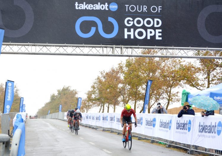 Nolan Hoffman and Ariane Luthi victorious on Stage 1 - Tour of Good ... 298db5aa6